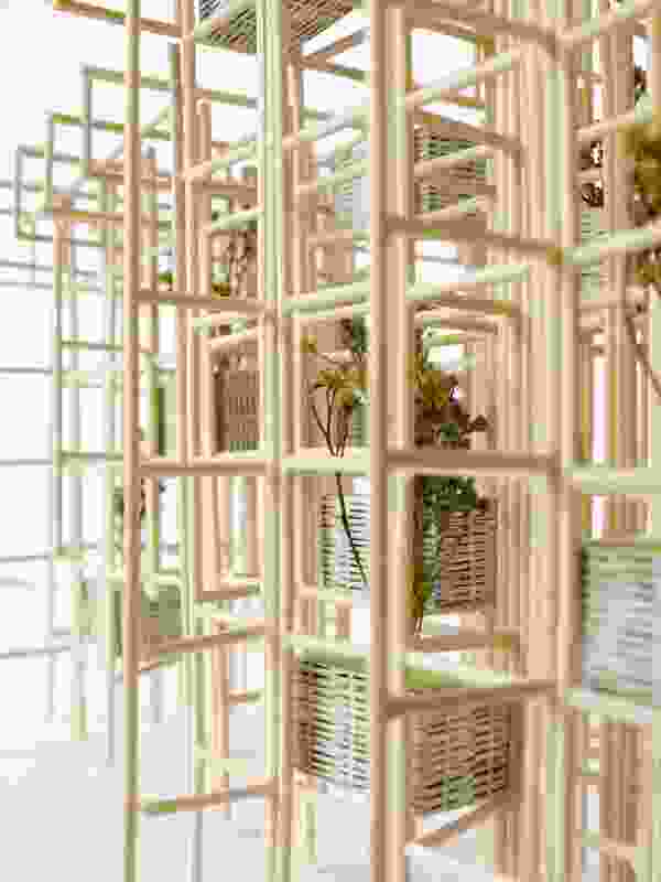 Model of Green Ladder by Vo Trong Nghia.