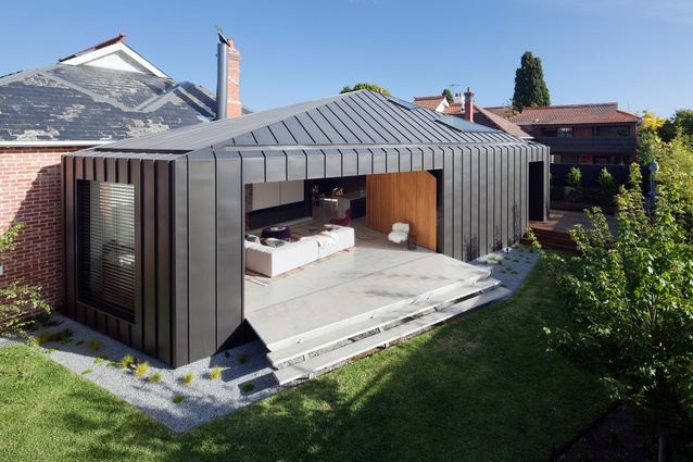 Shadow House by Matt Gibson Architecture + Design and Mim Design (interior design).