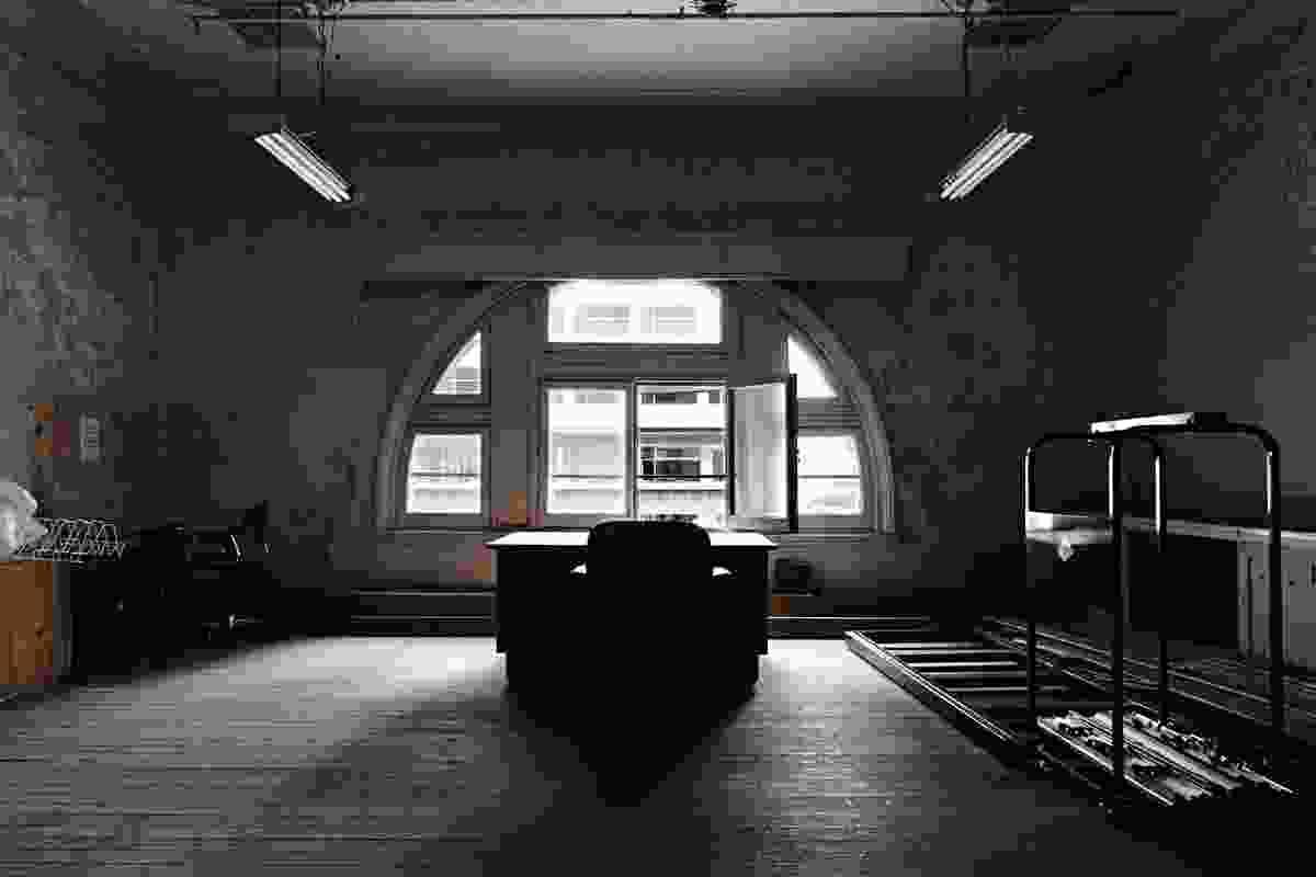 An ancillary room off the Flinders Street Station Ballroom.