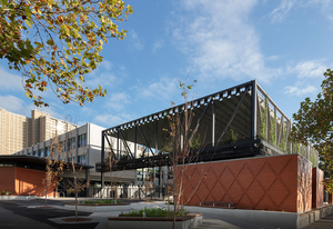 Carlton Learning and Community Hub by Law Architects.