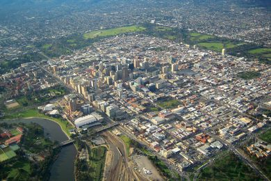 South Australia's capital, Adelaide.