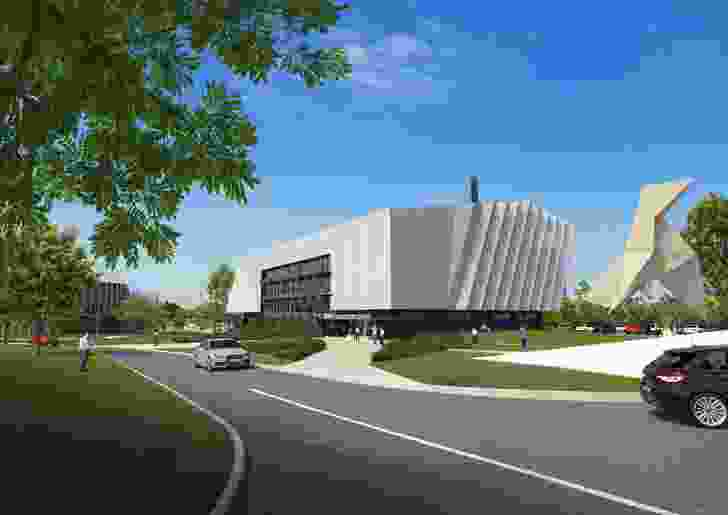 Cairns Innovation Centre, designed by Wilson Architects and Clarke and Prince.