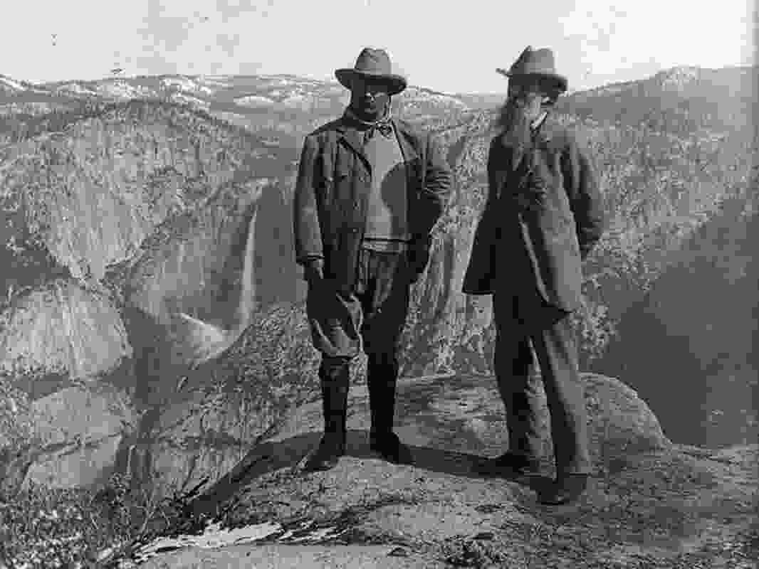 Charles Muir and Theodore Roosevelt, two nineteenth century thinkers on the wilderness, confront its disappearance in the United States.
