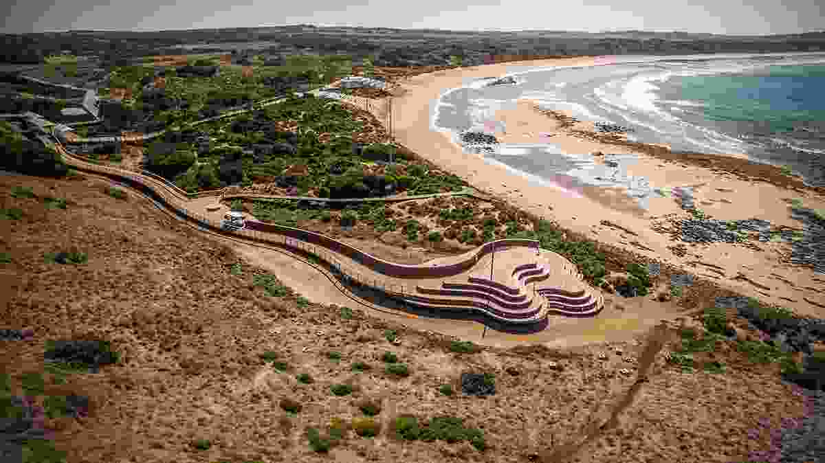 Penguins Plus viewing area by Tract Consultants with Wood Marsh Architecture.