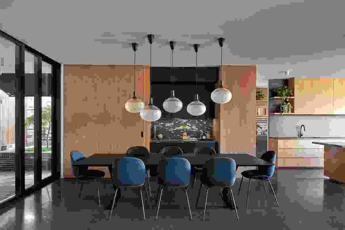 Biophilia - Slate House Northcote by Melbourne Design Studios.