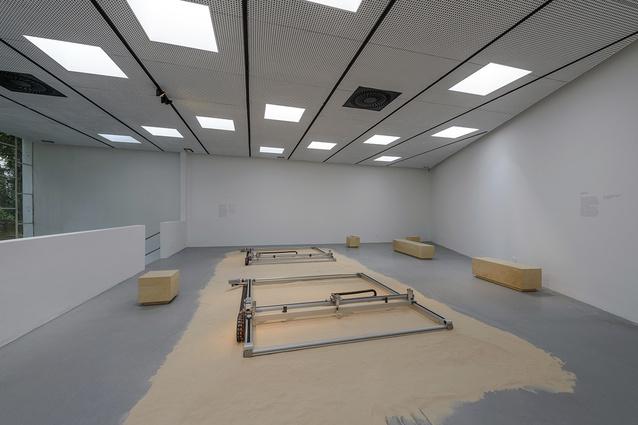 Israeli exhibition <i>Urburb</i>.