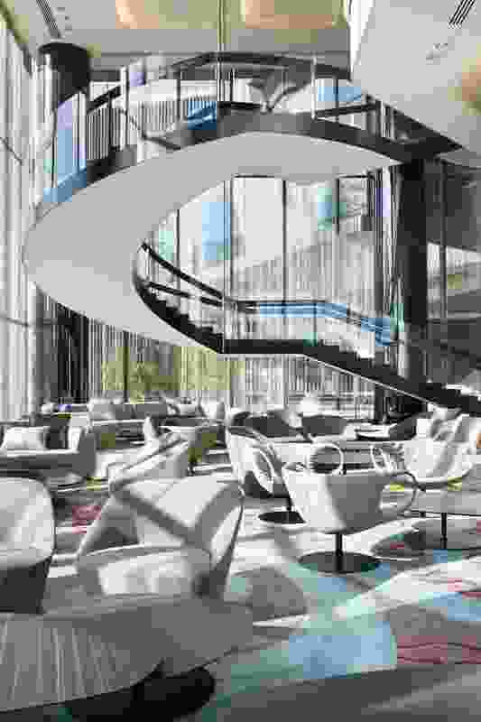 2011 Hospitality Design Award: Crown Metropol by Bates Smart.