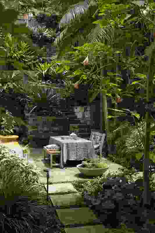 Green Escape garden designed and constructed by Michael Bates.