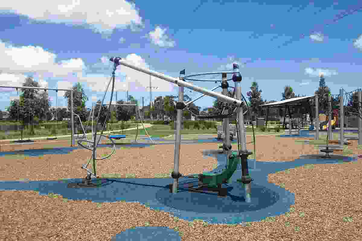 Existing Playford: Curtis Road Wetland Playground.