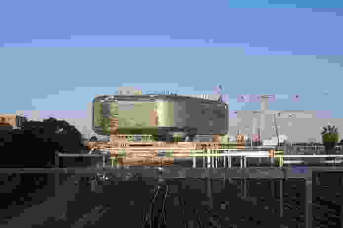 The SAHMRI building is the first piece in the mosaic of Adelaide's North Terrace Health Precinct.