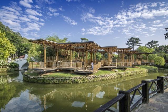 Bamboo Playhouse by Eleena Jamil Architect.