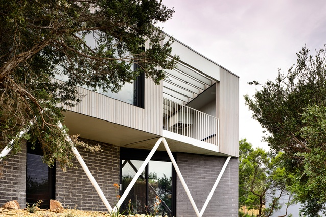 Sorrento House (Vic) by Figureground Architecture.