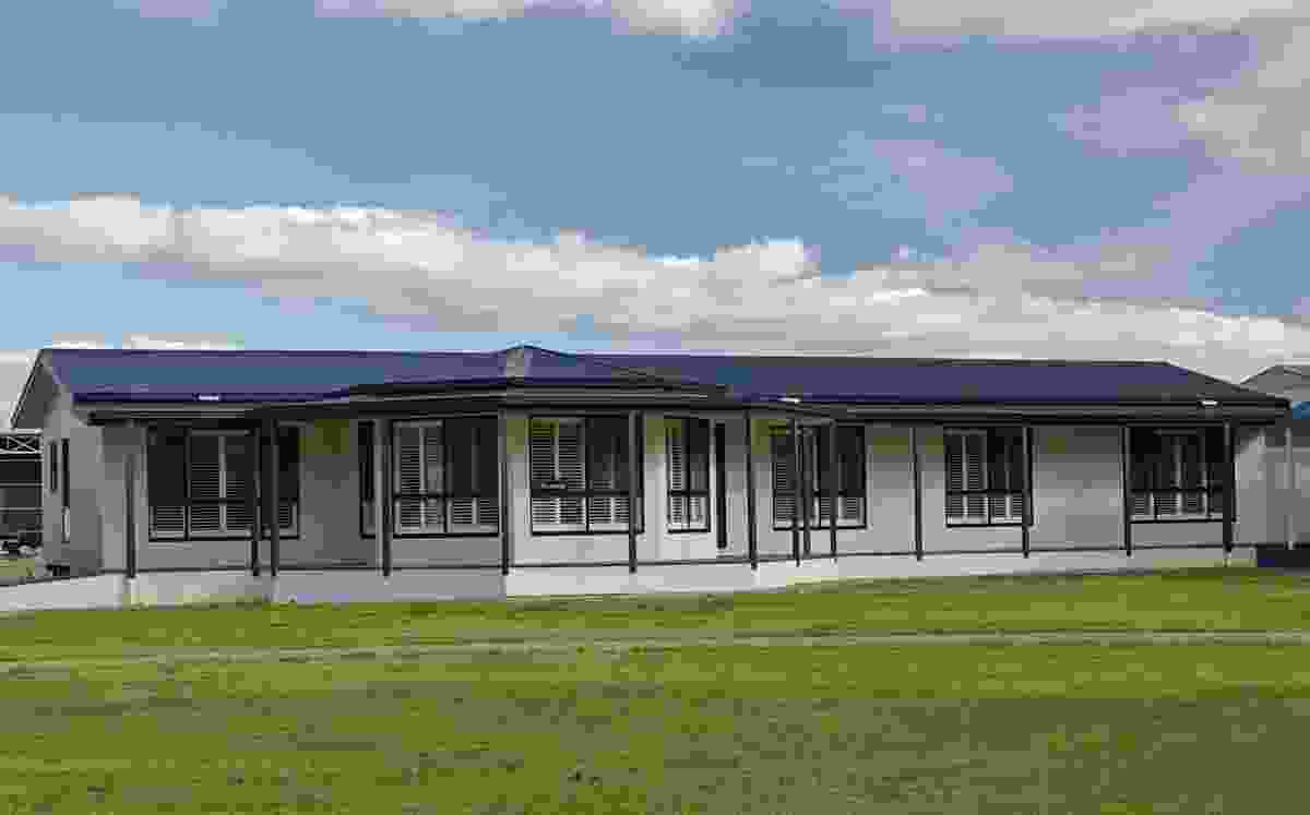 An example of an Australia prefabricated home.