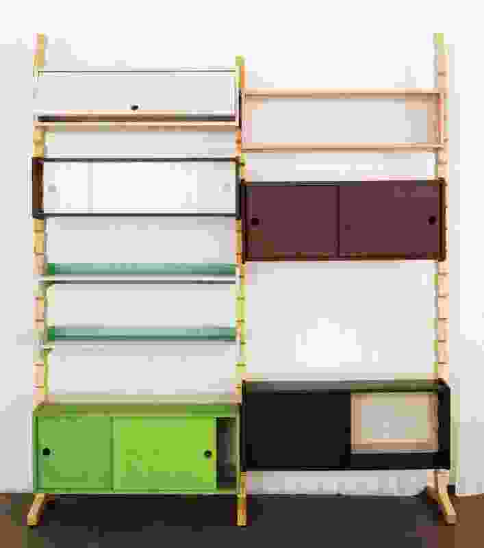 Jaw shelving unit by Shay Alkalay.