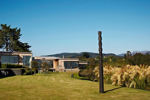 Waiwhero Farm, Upper Moutere, by Wraight + Associates.