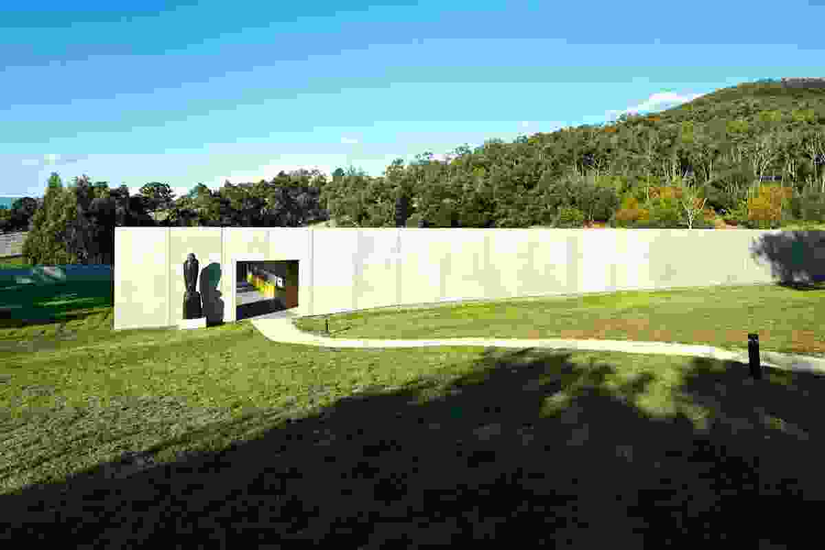 Commercial Architecture Commendation – Medhurst Winery by Folk Architects.