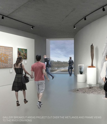 Kerstin Thompson Architects' design for the new Shepparton Art Museum.