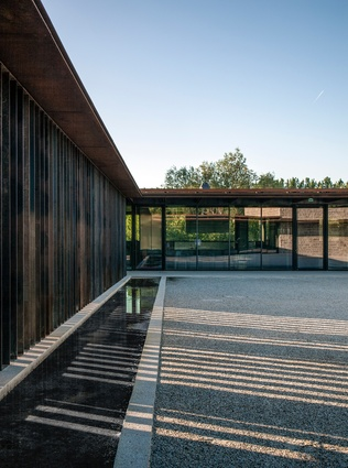 La Cuisine Art Center in Nègrepelisse, France by RCR Arquitectes (2014).