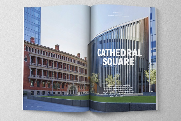 Cathedral Square by Kerry Hill Architects.