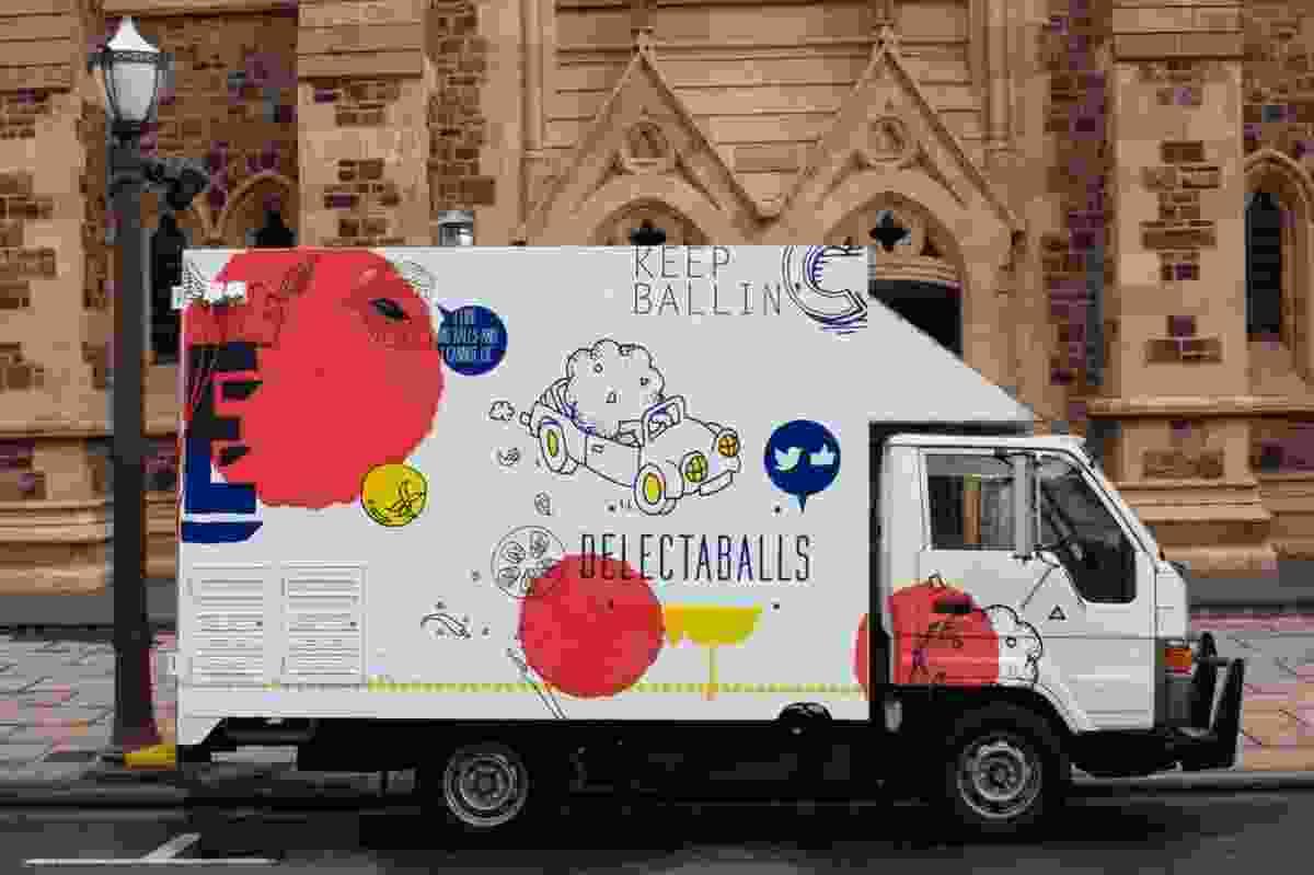 Delectaballs by Black Squid Design.