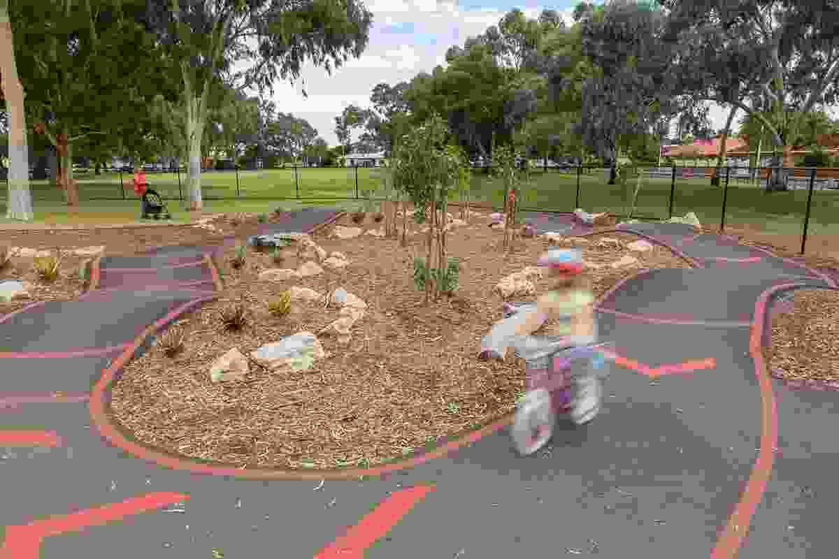 Hendrie Street Reserve - a great place for all by City of Marion won a Landscape Architecture Award in the Play Spaces category.