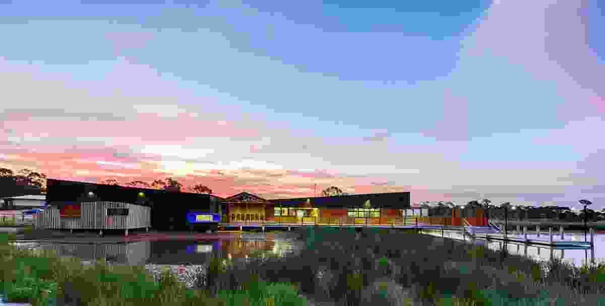 Marist College Bendigo Montagne Centre by Y2 Architecture and Three Acres Landscape Architecture.