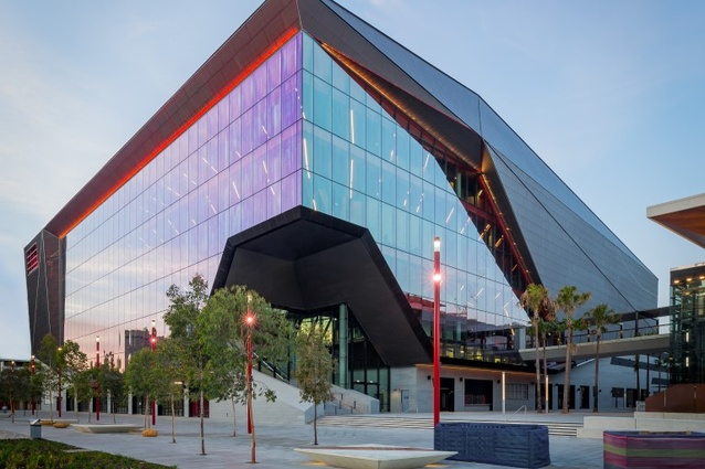 The ICC Sydney Theatre by Hassell and Populous.