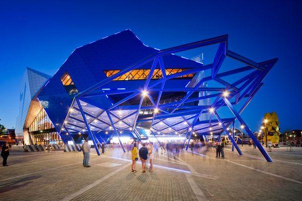 Perth Arena opening night, when Elton John performed.