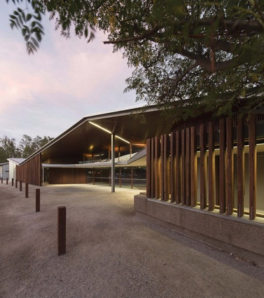 Port of Echuca Discovery Centre by Jaws Architects.