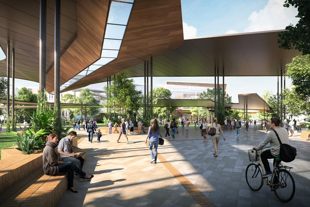 James Cook University - Townsville Master Plan by Cox Architecture.