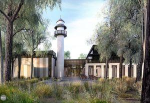 The proposed Bendigo mosque designed by GKA Architects.