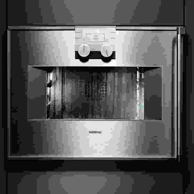 Combi-steam oven from Gaggenau.