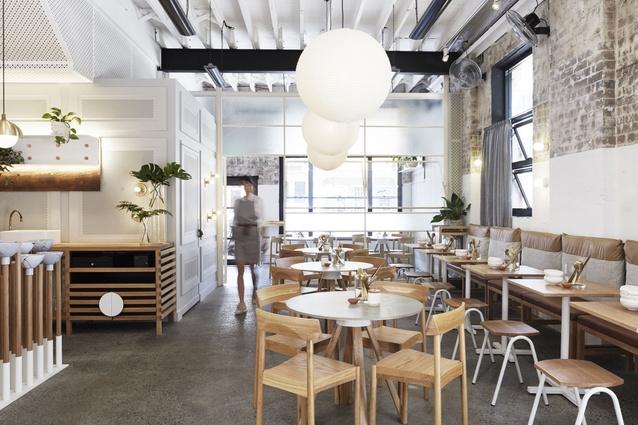The Rabbit Hole - Organic Tea Bar by Matt Woods Design