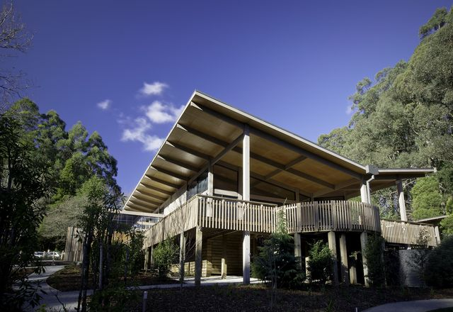 The Olinda Tea House by Smith and Tracey Architects.