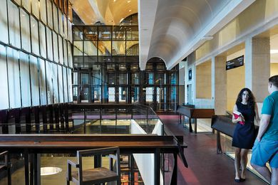 UQ Forgan Smith Building – TC Beirne School of Law and Walter Harrison Library Refurbishment by BVN.