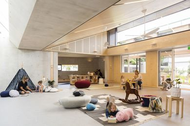 Waranara Early Learning Centre by Fox Johnston Architects.