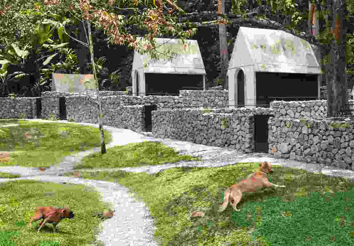 Why not humour?: Dog Hotel in Negeri Sembila, by WHBC Architects.
