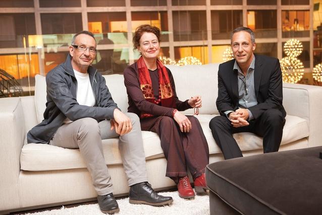 Speakers (from left): Ewen McDonald, Jennifer Turpin and Philip Vivian.