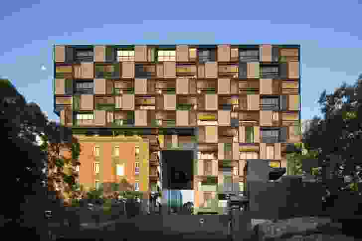 Harbour Mill Apartments by Grimshaw.