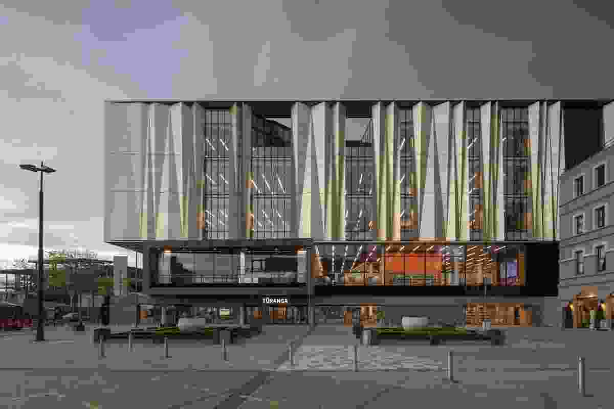 Finalist: Public Architecture – Tūranga by Architectus and Schmidt Hammer Lassen Architects.