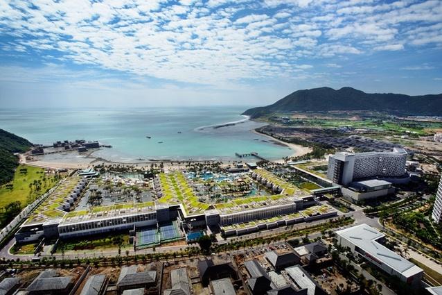 InterContinental Sanya Resort, Hainan Island, China.