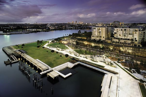 The Former Water Police Site/Pirrama Park Master Plan: ASPECT Studios, Hill Thalis Architecture + Urban Projects with City of Sydney