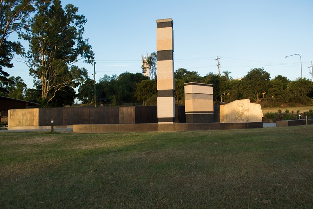 Ipswich and Rosewood Miners Memorial by Bureau Proberts.