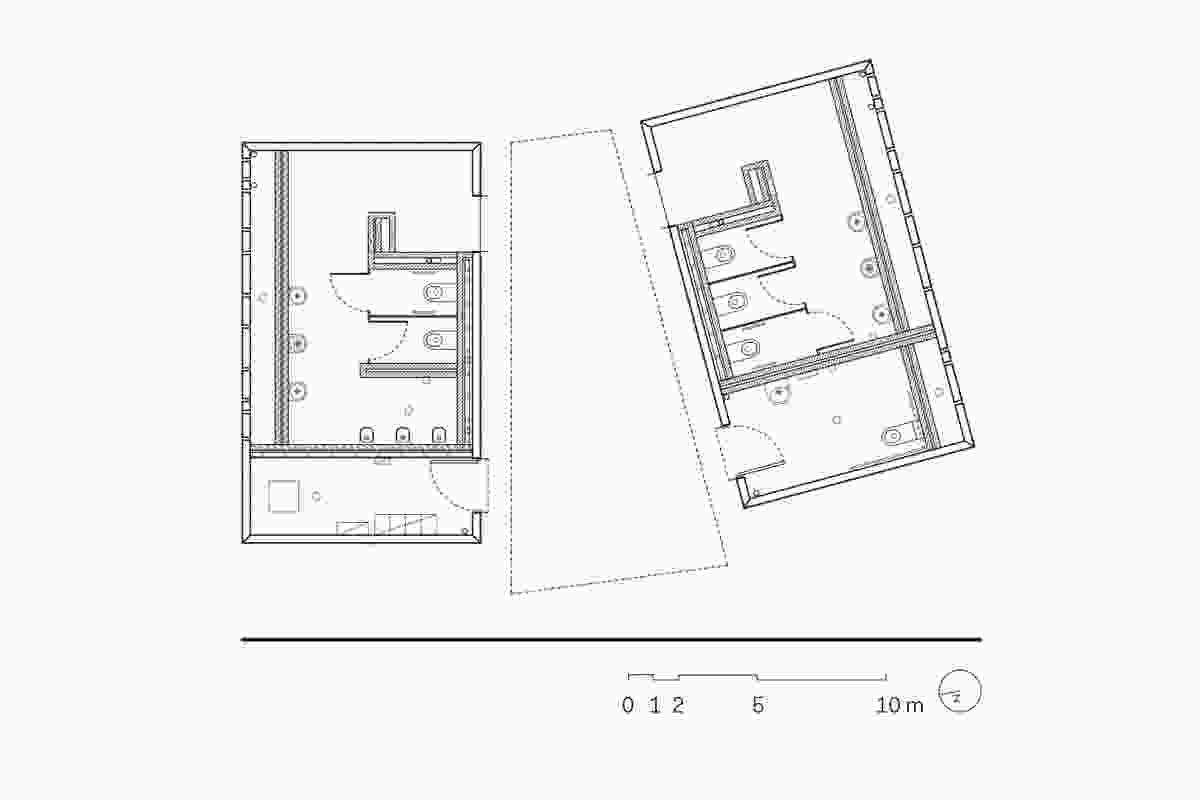 Rest Areas floor plan.