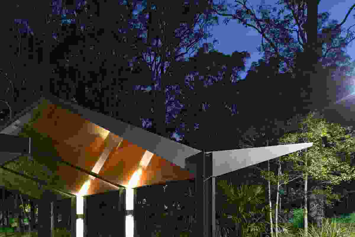 University of Newcastle Entry Canopies by CKDS Architecture.