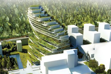 Green School by 3XN.