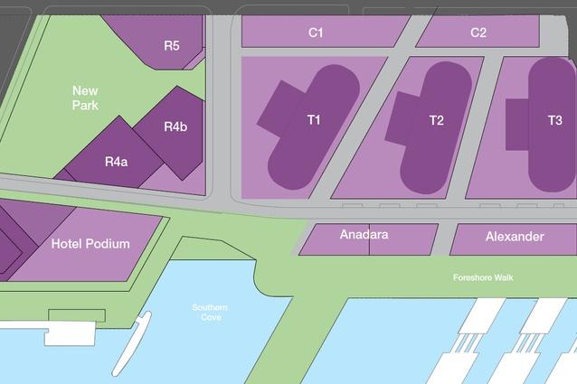 Barangaroo South revised concept plan 2015.