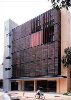 Genesis building, Singapore, 1994–1997. Image: Jon Linkins