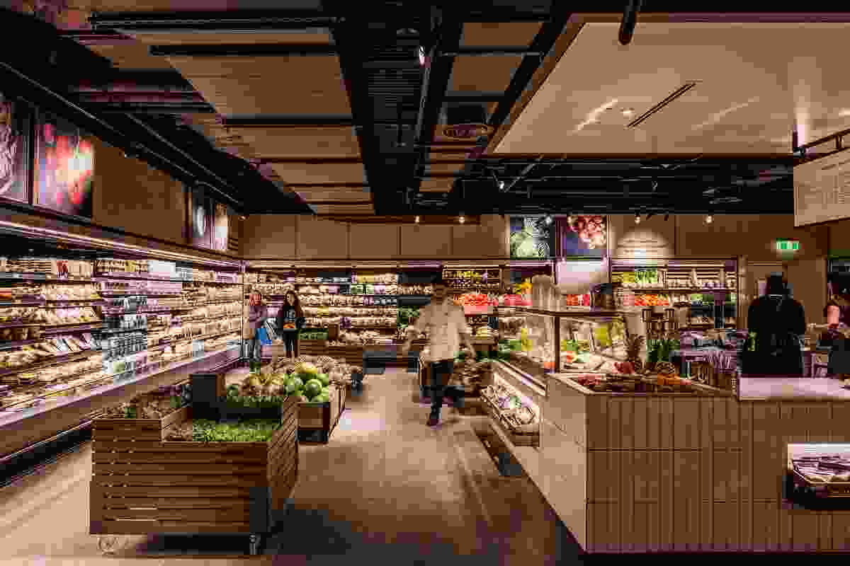 David Jones Food Hall Bondi Junction by Landini Associates.