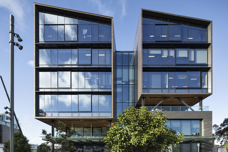 FInalist: Commercial Architecture – 12 Madden Street by Warren and Mahoney Architects.